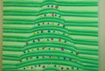 tekenen kerst