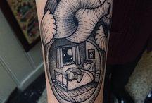i want in my skin / Tattoos