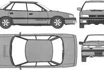 Subaru Legacy First Generation