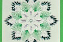 Stitching card patterns