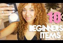Makeup Videos / Make up tutorials, recommendations, DIYs