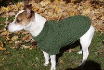 Dog Coats / Knitted and crocheted dog coats