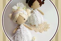 Panenky pletené