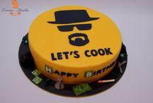 Breaking bad cake ideas/Heisenberg Breaking Bad Cakes