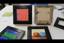 Framing and Installation / Framing and installing artwork