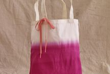 book bags / decorate canvas bags / by Shelly Krueger
