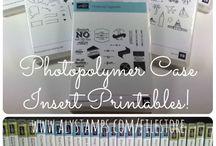 Photopolymer Stamps (Klarsichtstempel) Stampin' Up!