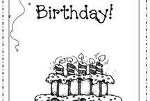 birthdays / by Leslie Cooper