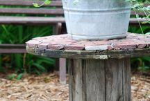 Wooden Spools / Wooden Spool Ideas / by Christine @ Little Brags Blog