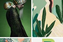 Colour Theory / Colour boards, colour combinations, colour inspiration and inovation
