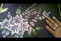 Çiçek pano