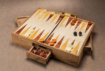 Table games / Refined table games realized with woods selected from all over the world.
