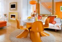 Déco - Couleur orange