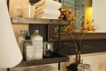Guest Bathroom Decor / Decor and accents for a guest bedroom. Pamper your guests with a touch of luxury from New Hope Soap