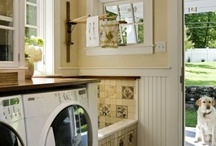 Laundry/mud room / by Roz Wallace
