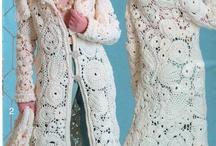 Háčkování - saka, kabáty, svetry