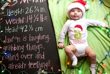 Baby chalkboard / by Amanda McGill