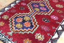 shag pile rug / vintage oushak rug,turkish rug,carpet,anatolian rug,antique rug