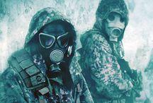 apocalypse and zombie survival ;)