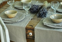 table settings... / by Andra Miller