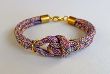 DIY Jewelry: Bracelets / DIY Bracelet Tutorials / by True Blue Me & You
