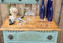 Repurposed furniture ideas / by Lisa Derf