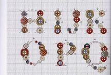 letter cross stitch