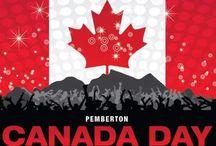 Canada Day / Happy Canada Day Banner Idea