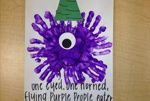 Preschool purple week