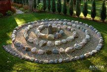 zen, yoga, meditation  garden / by Deana McGarr