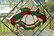 Stain glass Christmas & winter / by KATIE