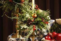 Christmas / Christmas decorations for the home, garden, table and Christmas trees