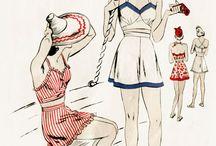 Vintage - Beachwear