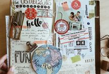 Travel Scrapbook Inspirations
