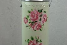 Thermos Vintage Fleurs