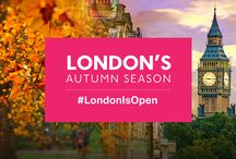 London's Autumn Season / Explore London's Autumn Season where heritage and tradition go hand in hand with cutting-edge design, world-class festivals and top performers. Discover hidden gems, great masters and new theatre shows. Read more at http://www.visitlondon.com/autumn