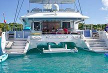 Catamaran living