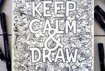 KEEP CALM &DRAW!