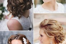 Bride hairstyl
