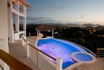 Swimming pool buildings