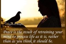 Peace quotes / Peace & positivity.
