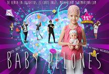 Baby Pelones de Juegaterapia / Los muñecos que homenajean a los niños con cáncer.