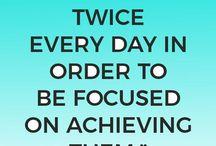How to Make Your Goals Happen.