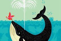 Everybody Loves Whales / by Erin Lynn Olsen