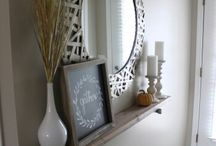 Entryway decor