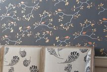 Wallpaper Galore! / Wallpaper I love.....color, pattern, texture.