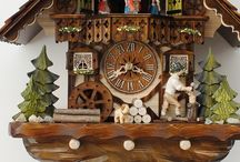 Cuckoo Clocks (Koekoeksklokken) / Originally, the cuckoo clock from the Black Forest in Germany. Traditionally, the invention is attributed to the Schönwaldse clockmaker Franz Ketterer in 1730. The cuckoo clock is still mainly produced in the Black Forest