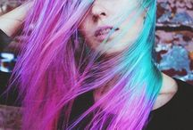 Colored hair ♡