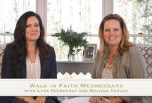 Walk In Faith / Bible Study / by Sevet Johnson