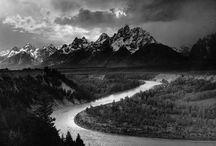 Svart/vita foton av kända fotografer